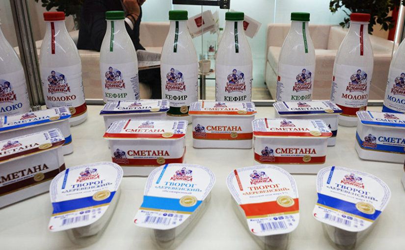 Забота о пенсионерах. В Россию запретили ввоз белорусских молочных продуктов