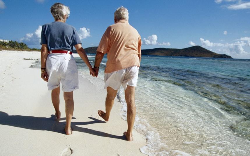 европейские пенсионеры путешествуют