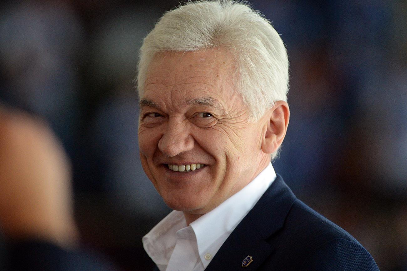 Тимченко-друг Путина