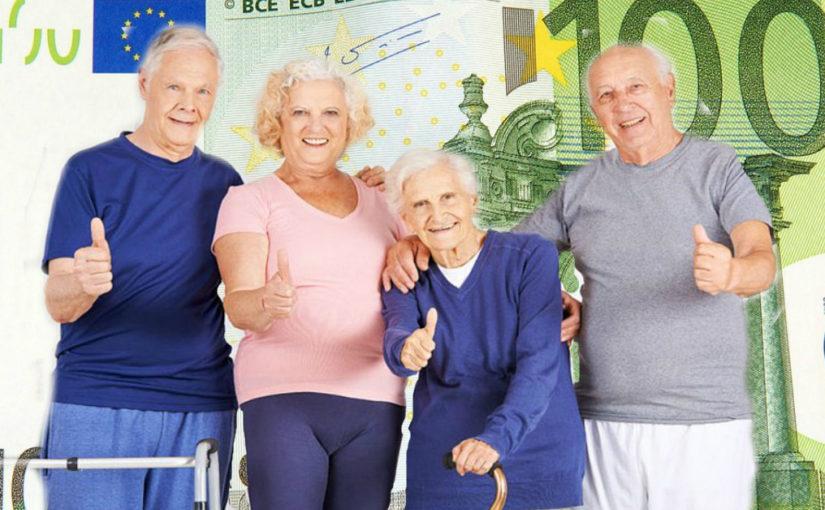 Жизнь на пенсии. А как у них. (Часть 1)