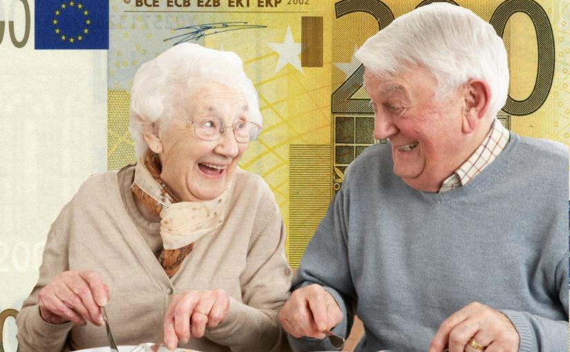 пенсионеры в Европе 1
