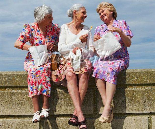 жизнь на пенсии. 3 грации