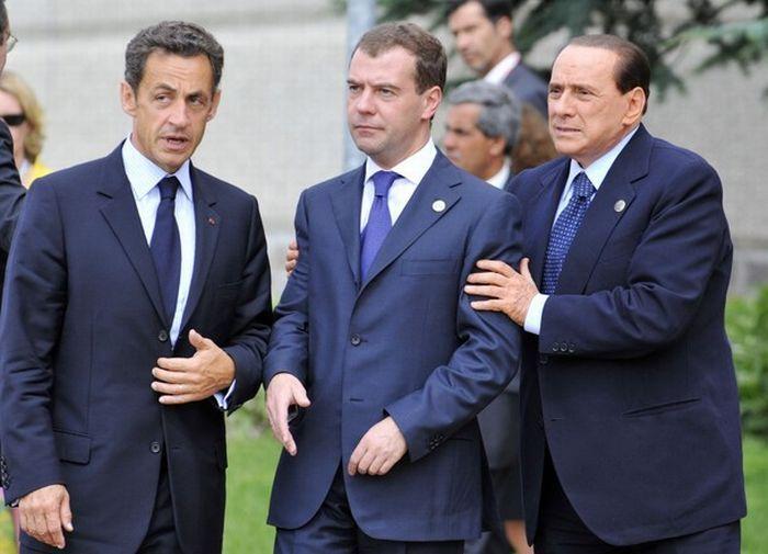 пьяный Медведев