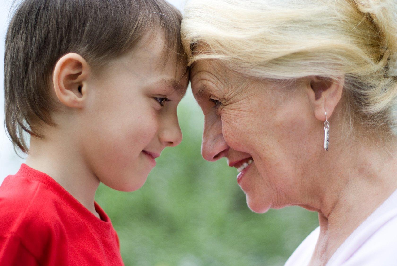 бабушка а не баба