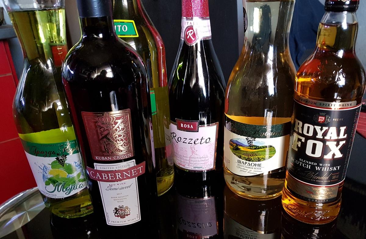 алкоголь из Светофора