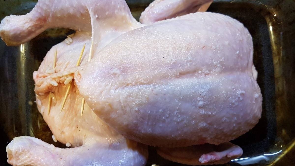 рождественская курица