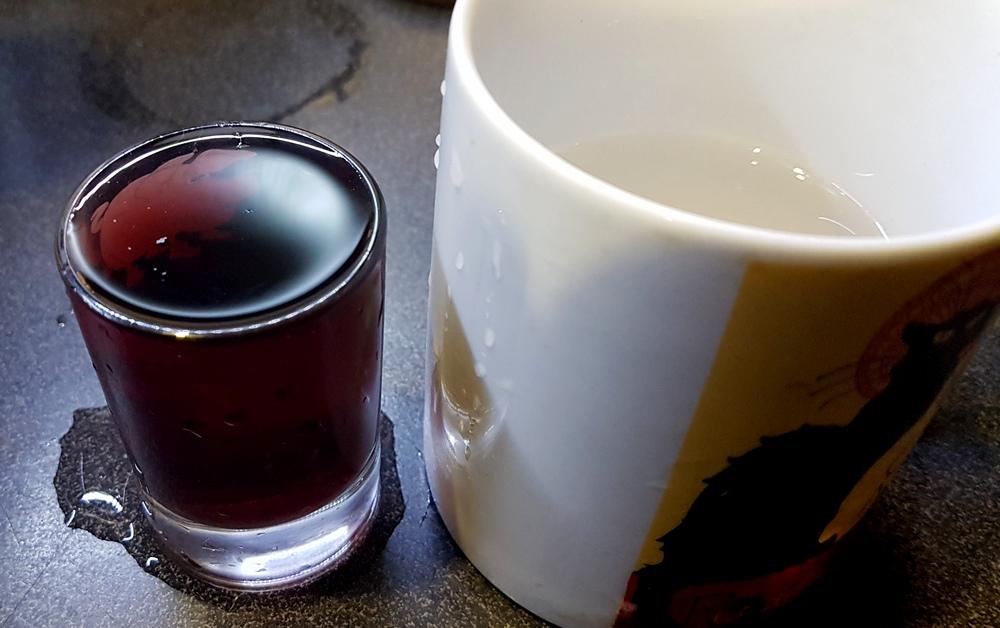проверяем красное вино на оригинальность