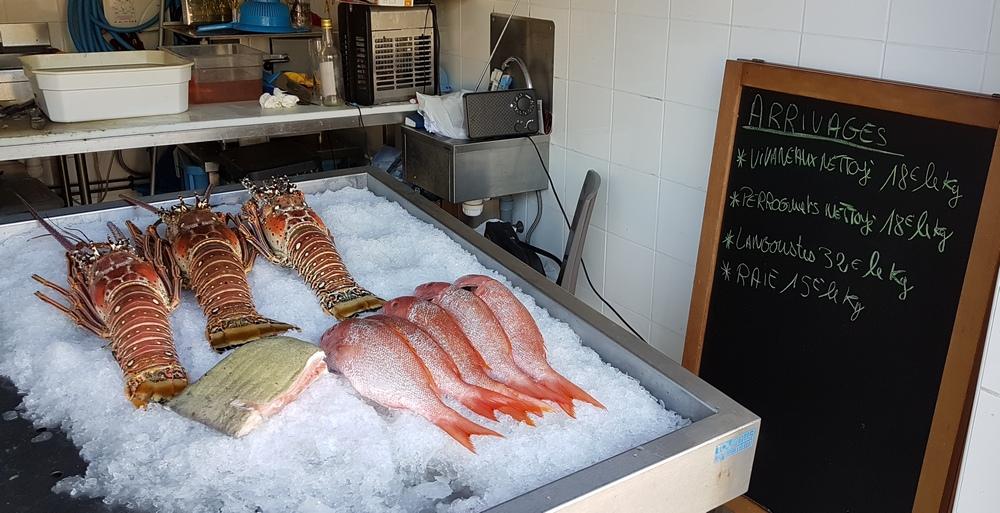 цены на свежие морепродукты на Мартинике