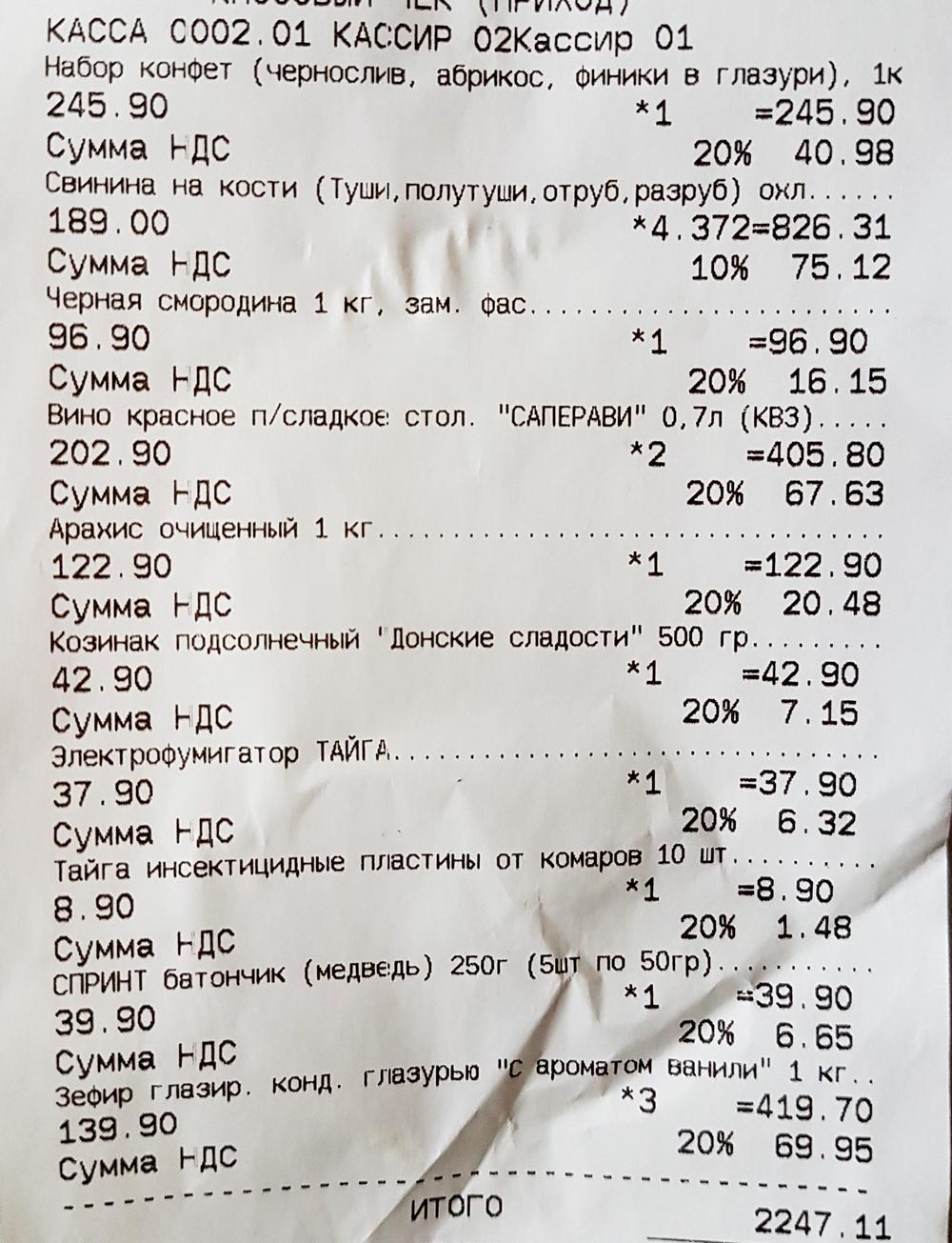 майские покупки в Светофофре.